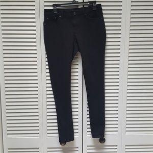 Ralph Lauren Skinny Jeans Black Sz. 8